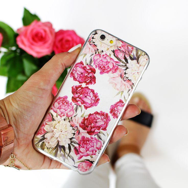 Piwonie <3 http://www.etuo.pl/etui-na-telefon-kolekcja-floral-case.html