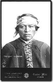 Lloncón, Cacique Mapuche