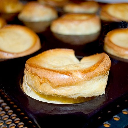 Yorkshire pudding - not sure if this is the same as my recipe, but Brook just LOVES this stuff