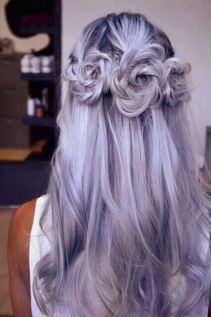 #hair color #purple hair #pastel hair