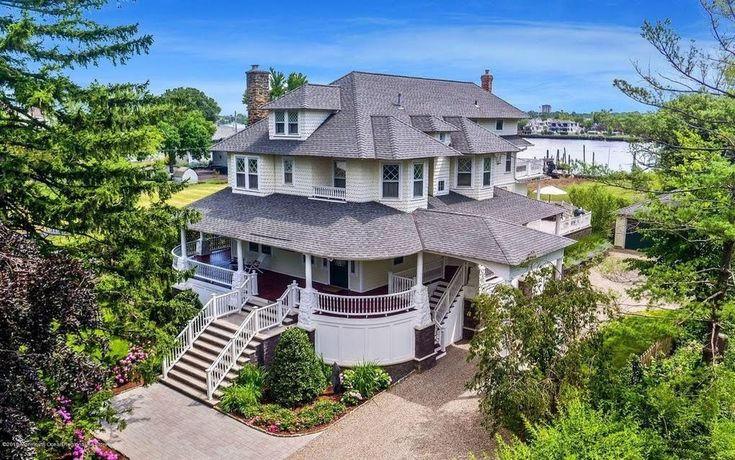 1906 historic waterfront home for sale in oceanport new