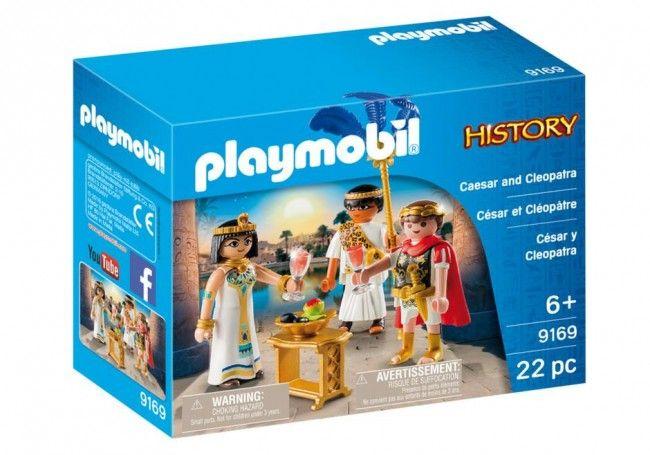 Playmobil Histoire César et Cléopâtre - Castello | Jeux et Jouets