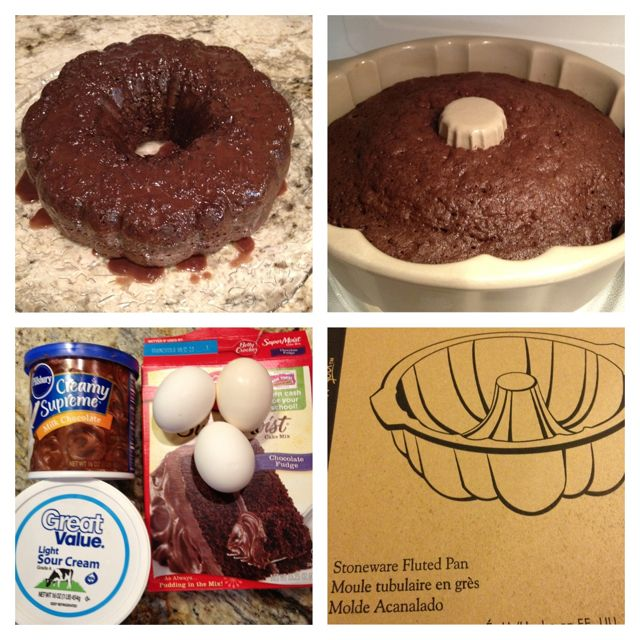 Pampered Chef Bundt Pan Microwave Cake