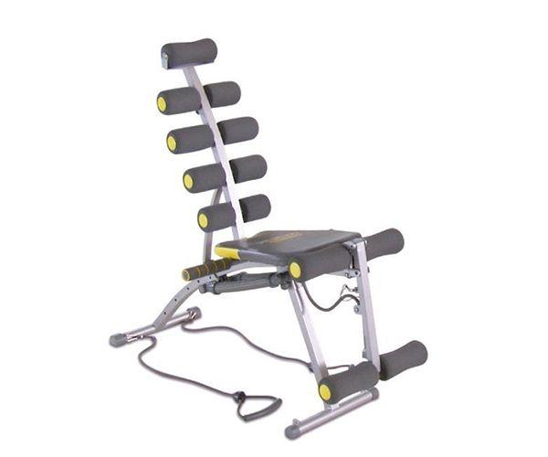 Rock gym  Description: De Rock Gym het 6-in-1 lichaamsvormende fitnessapparaat waarmee je jouw eigen woonkamer omtovert tot fitnesszaal. Met de Rock Gym ga je aan de slag en vorm je met effectieve leuke workouts jouw hele bovenlichaam.Zowel jouw buik borst armen en benen zullen de benodigde inspanning moeten geven om zich te vormen. Het all-in-one-circuit trainingsapparaat zorgt ervoor dat deze spieren tegelijkertijd worden aangeroepen zodat je een zeer effectieve workout doet. Niet die…