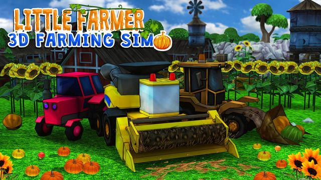 Little Farmer: 3D Farming Sim is live on the App Store. Get it Now: goo.gl/ZrXIhe