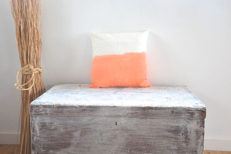 Dip dye boho cushions / lifestyle products / homewares interior decor / kids style / summer beach contemporary coastal / made in Bali / Ubud / Tevita Clothing and Lifestyle