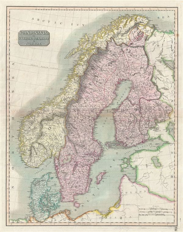 Best Antique Maps Of Scandinavia Images On Pinterest Antique - Map 0f sweden