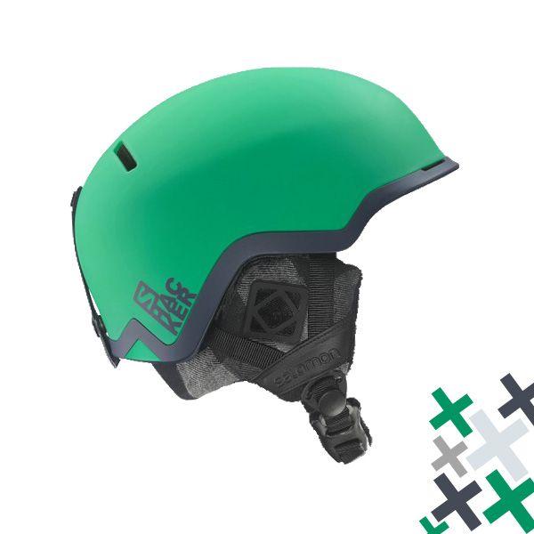 Salomon Hacker Green este o casca de schi ultra-usoara fabricata cu tehnologie pentru Big Mountain si stil Park&Pipe.