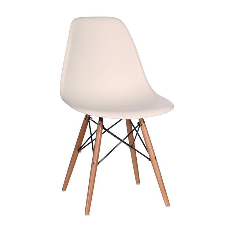 #sedia #bianco #legno #vintage