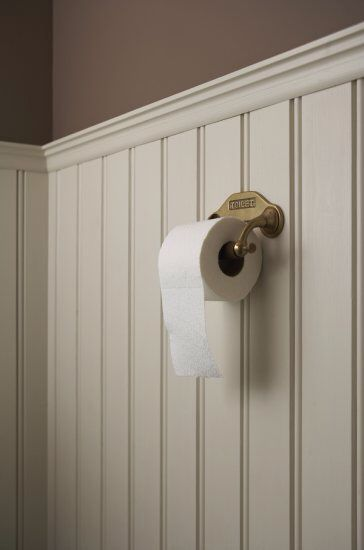 Toilet lambrisering