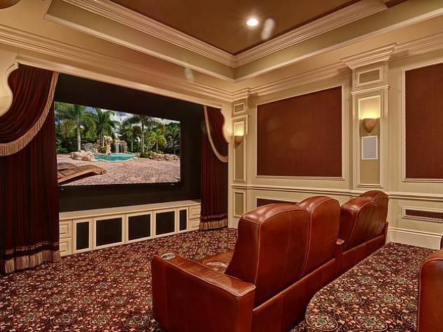 375 best home theatres images on pinterest for the home - Living room movie theater boca raton ...