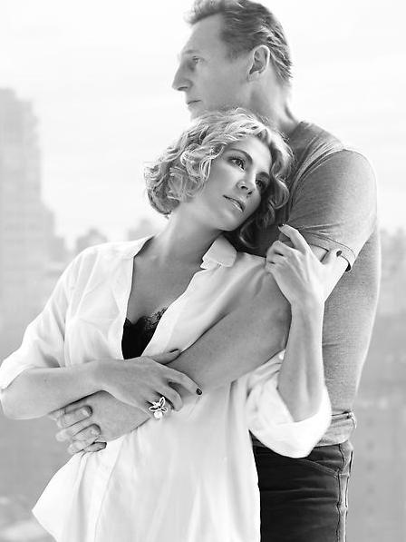 Pin by patter richie on leading couples real and for Natasha richardson and liam neeson