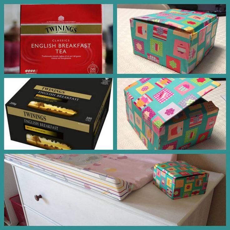 17 migliori idee su scatole di cartone su pinterest - Scatole portaoggetti ...