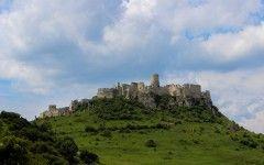 The ruins of Spiš castle (Unesco heritage), Spiš region, SLovakia