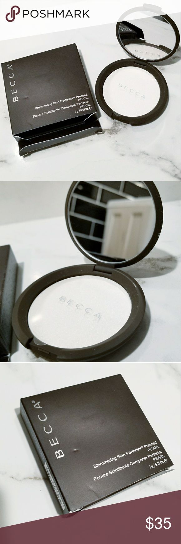 Becca Shimmering Skin Perfector Highlighter :Pearl Becca Shimmering Skin Perfector Shimmering  Color: Pearl  Never been used. NWT  Makeup highlighter for face BECCA Makeup Luminizer