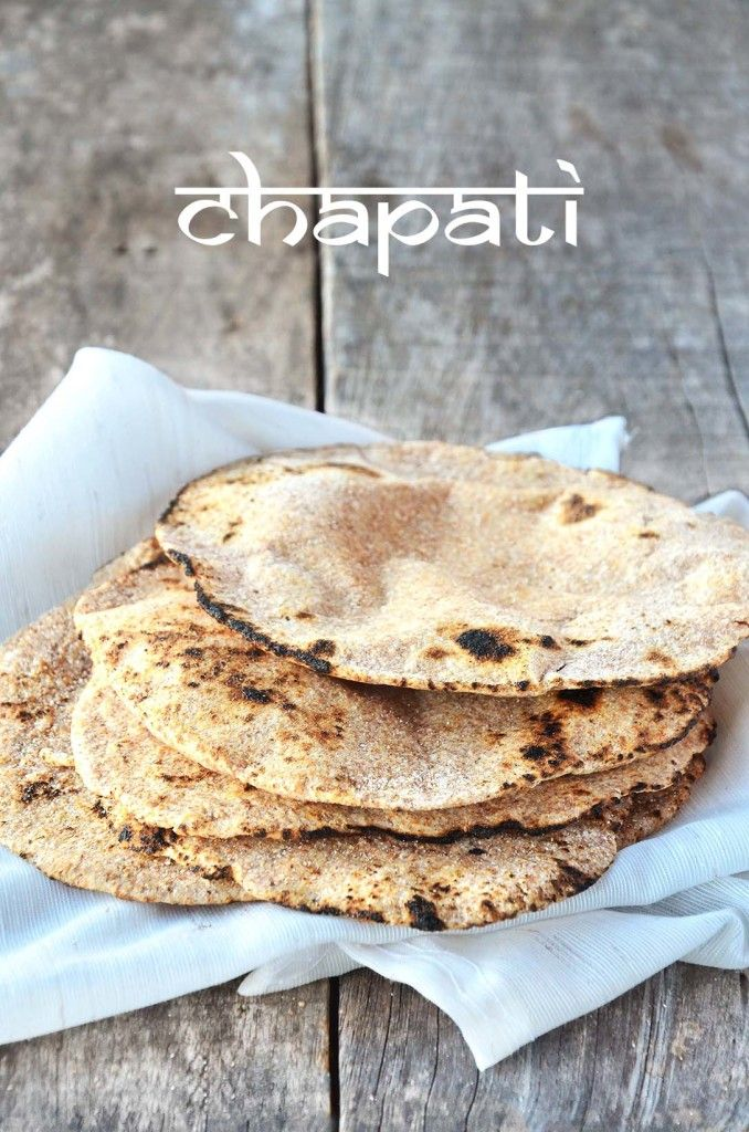 CHAPATI (pão indiano) | Tempero Alternativo