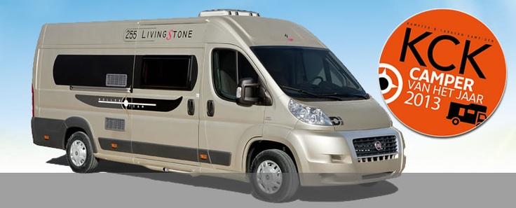 Roller Team Livingstone 255 is camper van het jaar 2013!