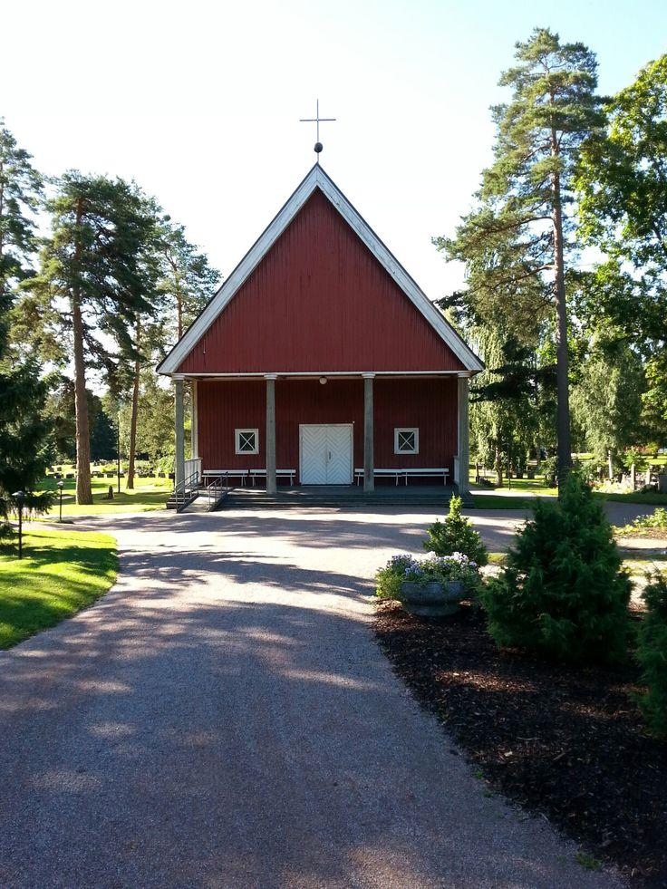August 3  ,  2017 . Nurmijärven kirkonkylän siunauskappeli . NURMIJÄRVI  . FINLAND  .