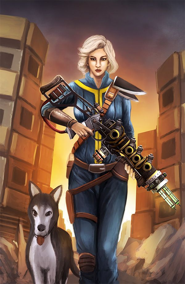 Fallout: Vault Dweller by Kamajaya-78 on DeviantArt