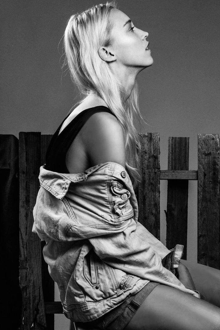 Latvian model Eva Berzina