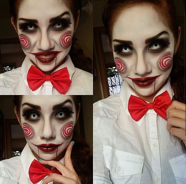 Jigsaw Makeup | Halloween | Pinterest | Makeup and Jigsaw ...