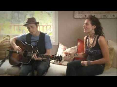 Kara DioGuardi and Jason Reeves sing their co-written song, Terrified.