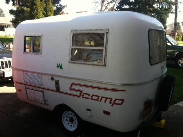 Remodeled 1979 Scamp 13' Travel Trailer   Portland ...