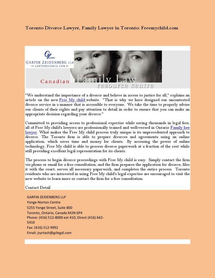 Toronto divorce lawyer family lawyer in toronto