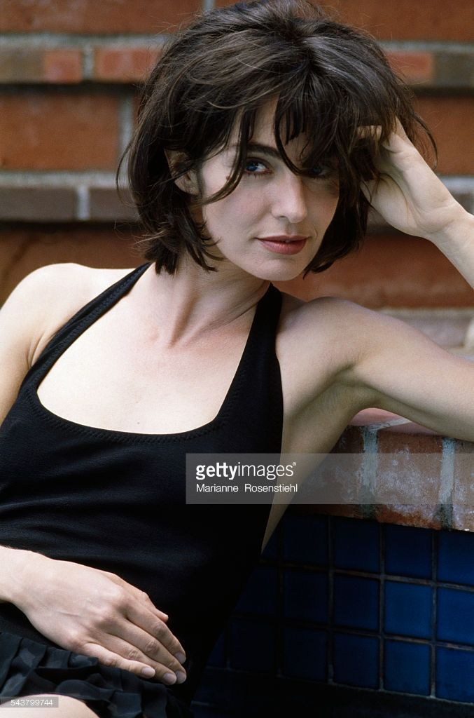 Photo d'actualité : French actress Anne Parillaud in Los Angeles.