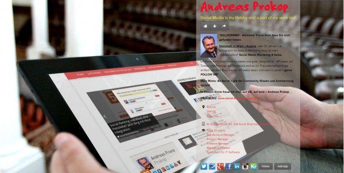 """About.me Online Visitenkarte mit """"Social"""" Netzwerkfunktion!"""