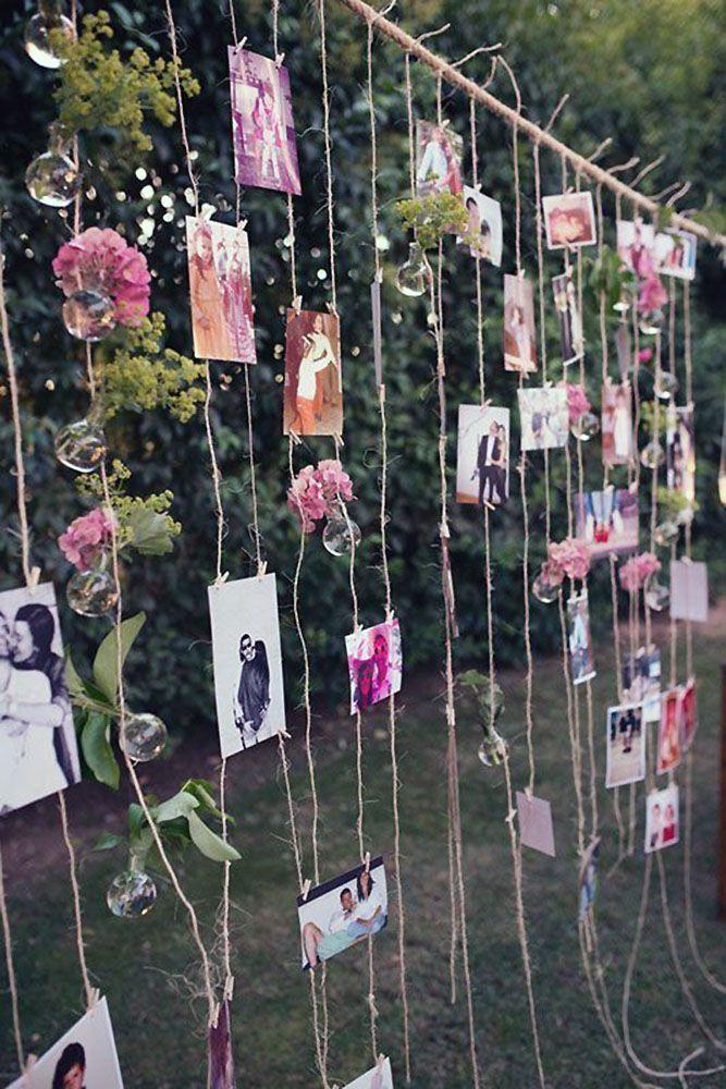 incroyable 30 idées de décoration de mariage de jardin rustique confortable