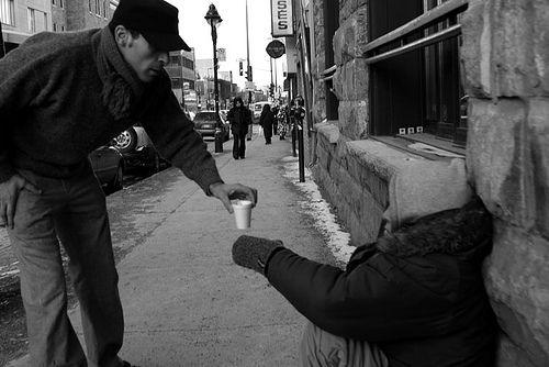 The kindness of strangers, via Flickr.