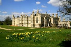 Elizabethan manor house in Capability Brown designed parkland