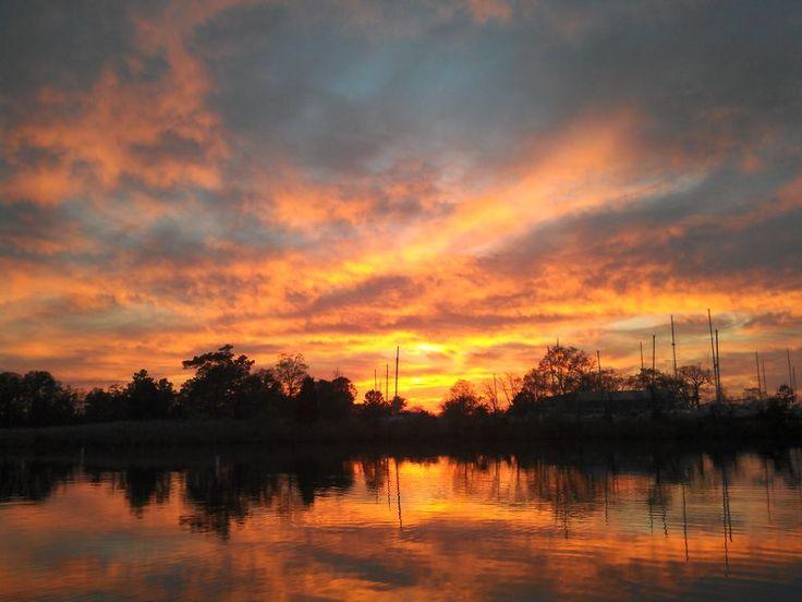 Osprey Point sunset. Photo by: Paul Bollinger. Photo of the Week: http://cbf.typepad.com/chesapeake_bay_foundation/2013/05/photo-of-the-week-osprey-point-sunset.html