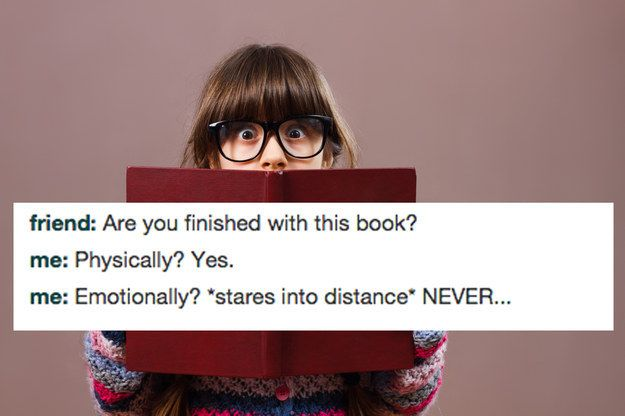 Funny book humor images about the secret thoughts all bookworms experience.