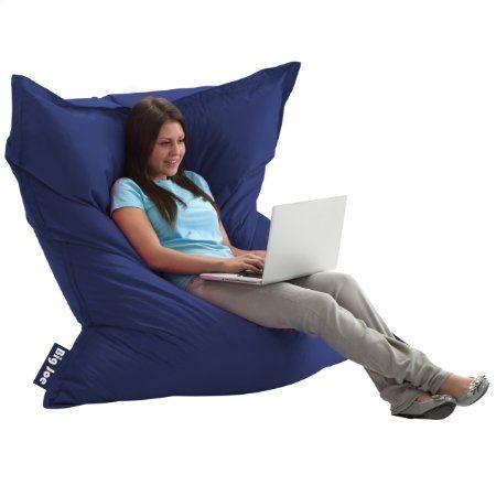 Big Joe Original Bean Bag Chair  Sapphire. 17 Best images about Adult Bean Bag Chair on Pinterest   Sacks