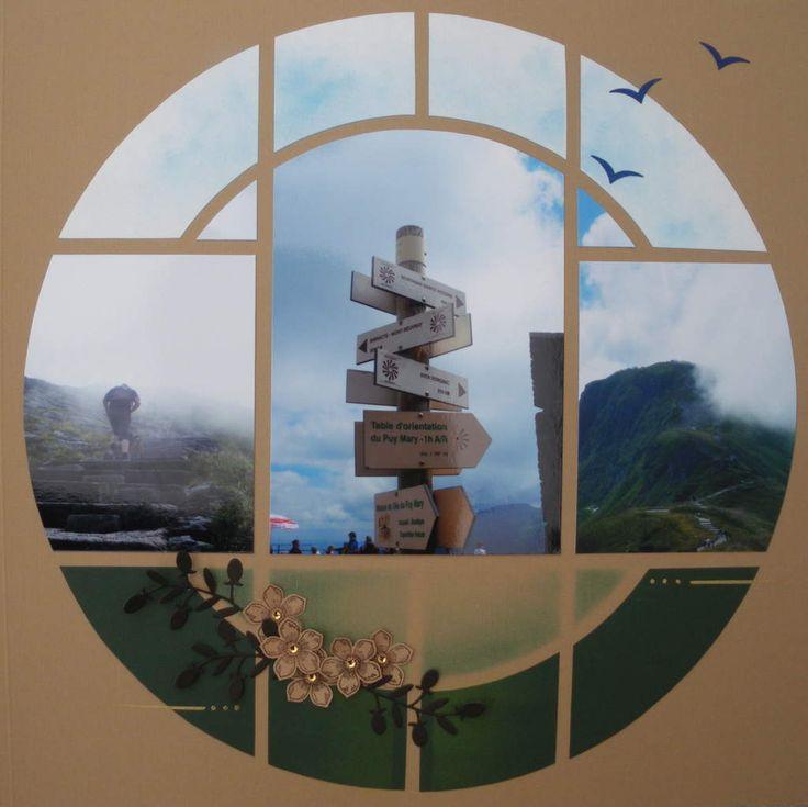 Un dernier petit détour par le Cantal pour finir l'album sur mes vacances d'Août 2014!Col du Pas de Peyrol, Gabarit Cuba, Duo CaraïbesMatériel Azza utilisé : - Gabarit