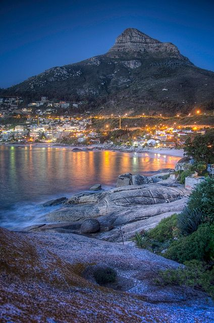 Clifton Beaches in Cape Town, South Africa