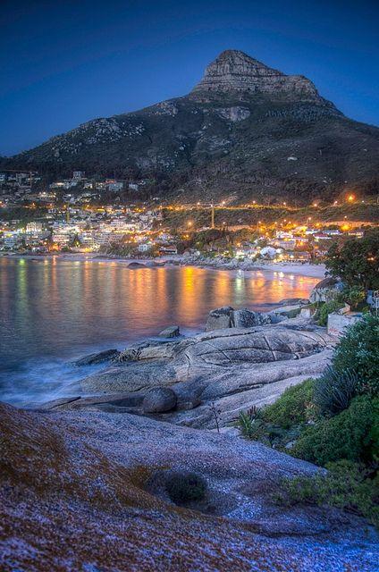 Clifton Beach in Cape Town, South Africa
