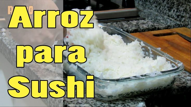 Arroz para Sushi ! ( Comida japonesa !!)
