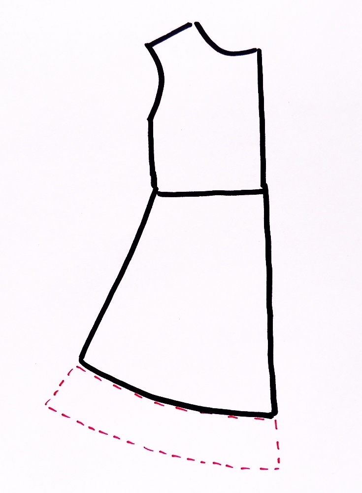 A New Way to Add Length to a Dress (a very detailed blog post about many different methods to lengthen a dress/skirt)