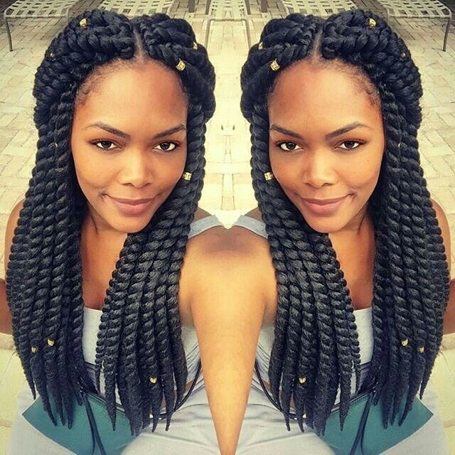 18 best hair images on pinterest braids hair and natural hairstyles havana mambo twists with hair cuffs pmusecretfo Choice Image