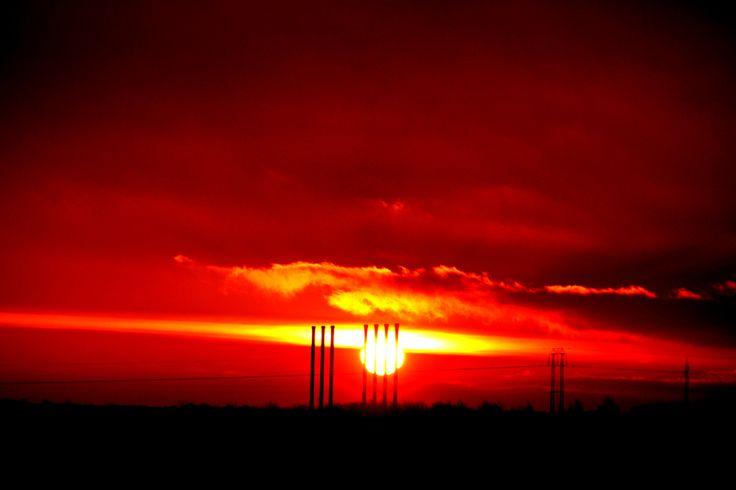 Morning over Herning