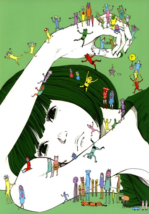Auf 25.media.tumblr.com http://www.pinterest.com/CraftCandy/illustrations/