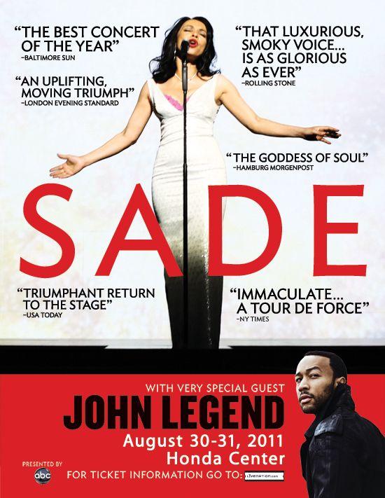 Sade - Bring Me Home Tour 2011