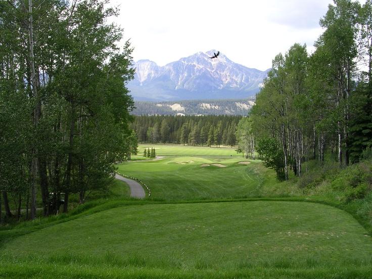 Jasper CC, Jasper, Alberta, Canada.
