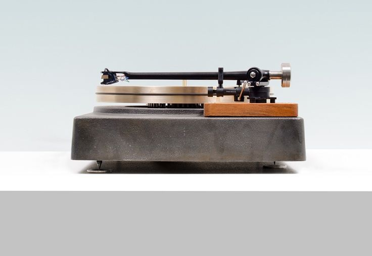 This Cast Iron And Bronze Turntable Is An Absolute Thing Of Beauty. Art that's functional.