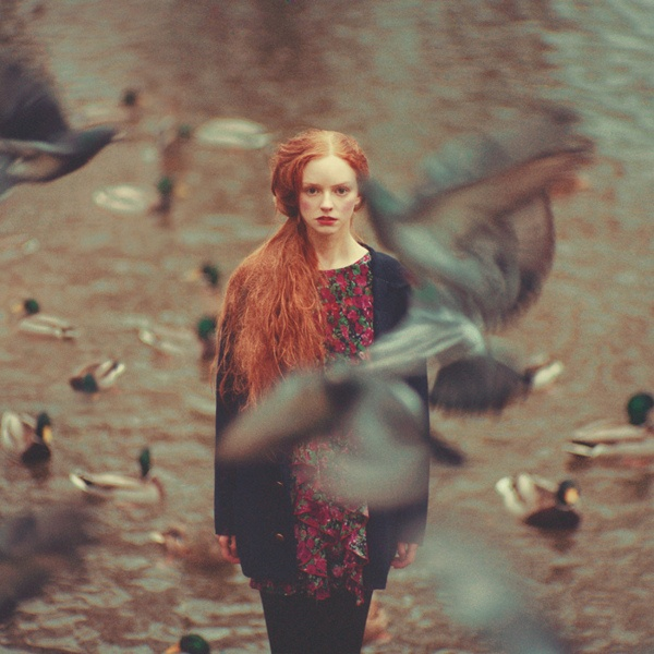 emotive portraits by Oleg Oprisco, via Behance
