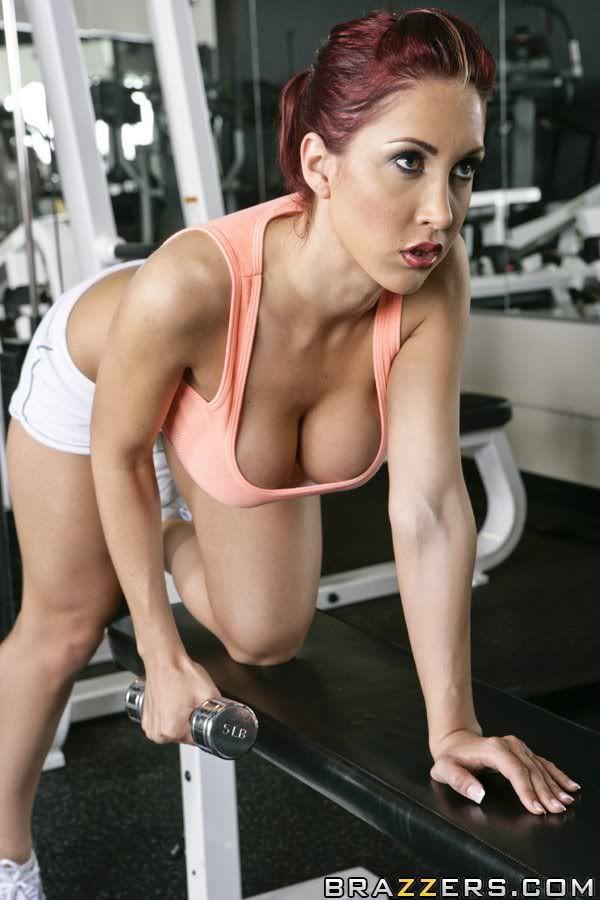Gym fuck with hot athletic lesbians angelica heart amp inna innaki gone wild - 2 1