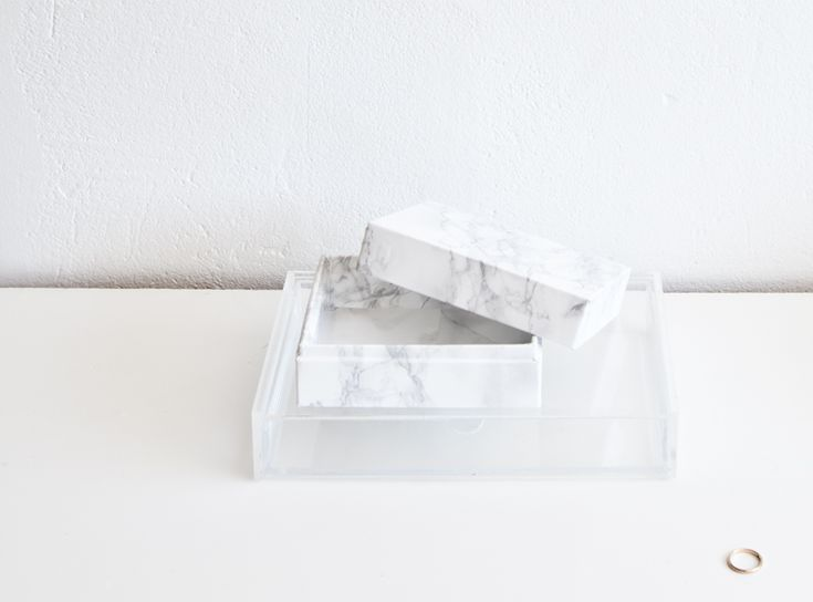 Marble box diy by Annaleena